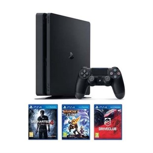 Sony Playstation PS4 Slim 500GB + 3 Games