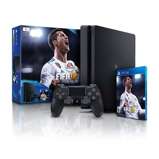 Sony Play Statiton PS4 Slim 1TB + FIFA 18